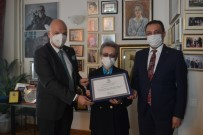 ENGİN ÖZTÜRK - TÜSIAV'dan HASVAK Kurucu Genel Baskani Engin Öztürk'e Sükran Belgesi