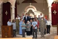HRISTIYAN - Vali Erin, Resulayn'daki Süryani Cemaatiyle Bulustu