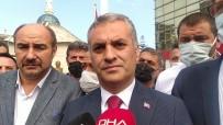 OLAY YERİ İNCELEME - Vali Ustaoglu Yomra Belediye Baskani Biyik'a Düzenlenen Silahli Saldiri Sonrasi Olay Yerine Geldi