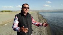 GIZEMLI - Van Gölü'nde Su Çekilince Binlerce Yillik Mikrobiyalitler Ortaya Çikti