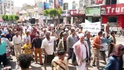 Yemen'in Taiz Kentine Yönelik Kusatmanin Uluslararasi Müzakere Masasinda Olmamasi Protesto Edildi