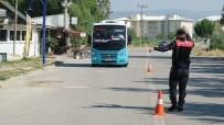 JANDARMA ASTSUBAY - Yunusemre Jandarma'dan Dolmuslarda Sivil Denetim