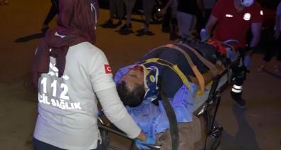 Antalya'da Otomobil Ile Motosiklet Çarpisti Açiklamasi 2 Yarali
