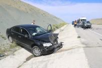 VOLKSWAGEN - Araçlar Kafa Kafaya Çarpisti Açiklamasi 5 Yarali