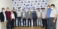 METİN ORAL - Baskanlardan Erzurumlular'a Ziyaret