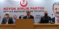 YENİ ANAYASA - BBP Genel Baskani Destici Açiklamasi 'Eski Türkiye Özlemi Içerisinde Olanlar Erken Seçim Istiyorlar'