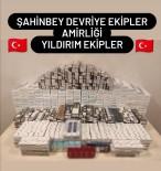 ETILER - Gaziantep'te 4 Bin 297 Paket Kaçak Sigara Ele Geçirdi