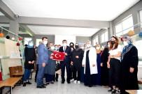 SELAHATTIN GÜRKAN - Gürkan'dan Girisimci Kadin Kooperatifine Ziyaret