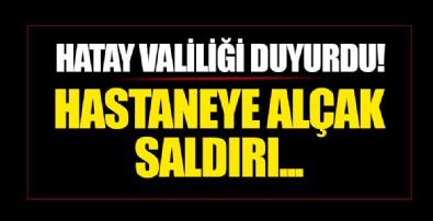 Hatay Valiliği duyurdu! YPG/PKK'dan Afrin'de hastaneye alçak saldırı! 6 sivil hayatını kaybetti