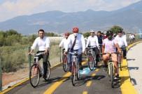ALI KAHRAMAN - Kas¸'ta Kapali Pazar Yeri Ve Bisiklet Yolu Hizmete Ac¸ildi