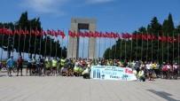 DÜNYA ÇEVRE GÜNÜ - Tarihi Yarimada'da Sehitlere Saygi Sürüsü Bisiklet Turu Düzenlendi