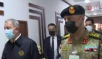 MUHAMMED ALI - Bakan Akar, Libya Görev Grup Komutanligini Ziyaret Etti