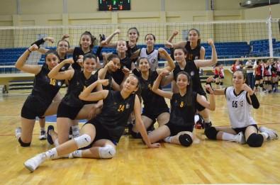 Bozüyük Belediyesi Egitim Ve Spor Kulübü Kadin Voleybol Takimi Final Gruplarina Yükseldi