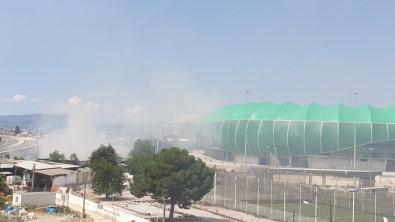 Bursaspor'dan Timsah Arena Için Yapilan Yangin Uyarisina Cevap Geldi