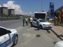 VOLKSWAGEN - Cevizlibag'da Kaza Açiklamasi 1 Yarali