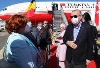 Cumhurbaskani Erdogan Brüksel'de