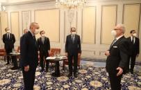 Cumhurbaskani Erdogan, Letonya Cumhurbaskani Levits Ile Görüstü