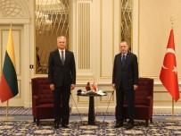 Cumhurbaskani Erdogan, Litvanya Cumhurbaskani Nauseda Ile Görüstü