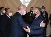 Cumhurbaskani Erdogan, Macaristan Basbakani Orban Ile Görüstü