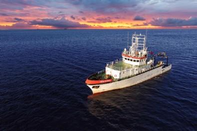 Deprem araştırmasında ilk seferini tamamlayan TÜBİTAK Marmara Araştırma Gemisi, İzmir'de: Ön bilgilerin tümü elde edildi