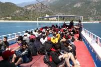 Fethiye'de 97 Kaçak Göçmen Yakalandi
