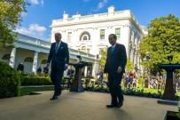DÜNYA EKONOMİSİ - Japonya Basbakani Suga Ve ABD Baskani Biden G7 Zirvesi'nde Görüstü