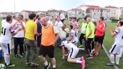 Karabük'te Isitme Engelliler Futbol Birinci Lig Grup Maçlari Sona Erdi