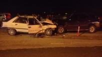 Tekirdag'da 2 Araç Kafa Kafaya Çarpisti Açiklamasi 1 Ölü, 3 Yarali