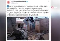SİVİL SAVUNMA - Terör Örgütü YPG/PKK'nin Hedefinde Afrin Vardi