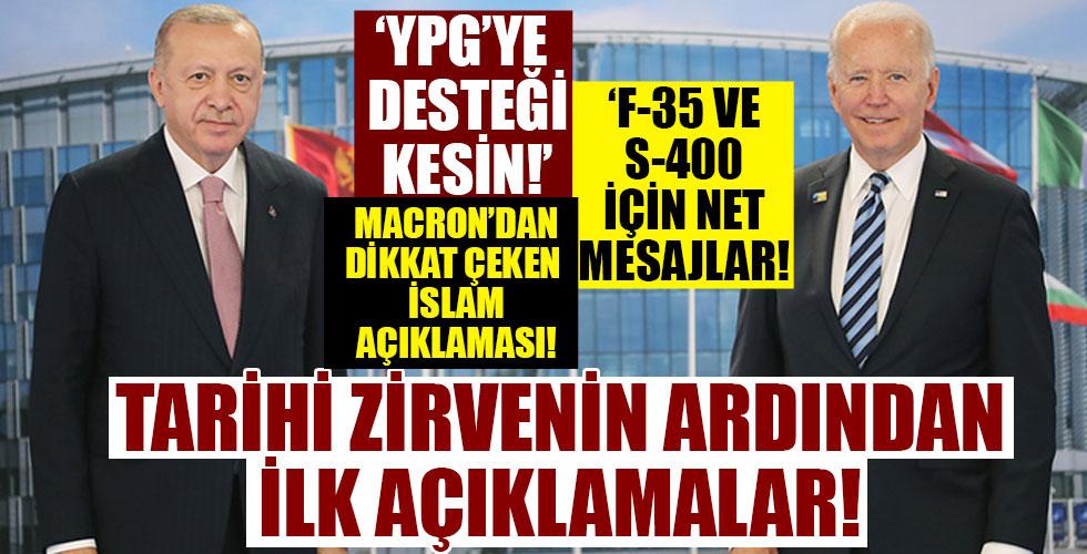 Başkan Erdoğan'dan kritik açıklamalar!
