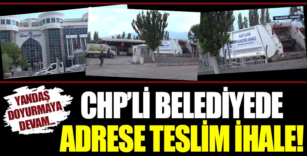 CHP'li Belediye'den adrese teslim ihale! Şartnameye öyle talepler koydu ki...