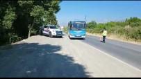 TRAFİK DENETİMİ - Kahramanmaras'ta Drone Destekli Trafik Denetimi