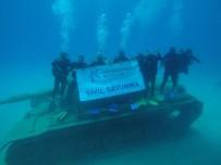 SİVİL SAVUNMA - Küçükçekmece Sivil Savunma Ekiplerine Antalya'da Bröveli Dalgiçlik Egitimi
