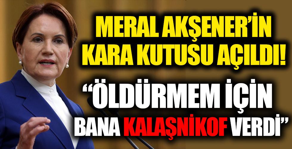 """""""Meral Akşener'in kara kutusu"""" Müsavat Dervişoğlu'nun 'Susurluk' dosyası açığa çıkıyor! Çete lideri ifşa etti"""