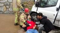 SEMERKANT - Trafik Kazasinda Itfaiye Erinden Ilk Yardim Müdahalesi