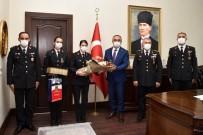RECEP SOYTÜRK - Vali Soytürk, Il Jandarma Komutani Ve Jandarma Personellerini Kabul Etti