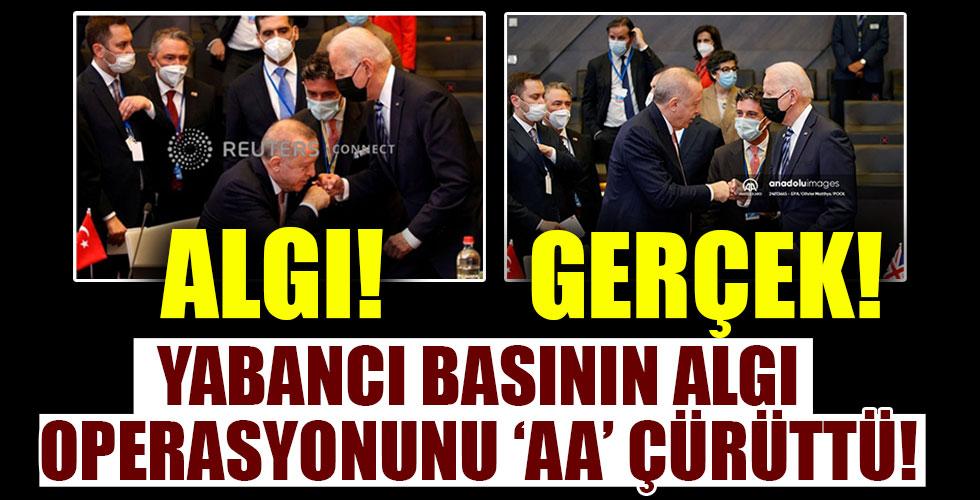 Yabancı basının algı operasyonunu Anadolu Ajansı çürüttü!