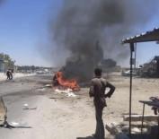 SİVİL SAVUNMA - Afrin'de Patlama  Açiklamasi 1 Ölü, 4 Yarali