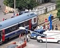 YOLCU TRENİ - Aydin'da Tren Kazasi