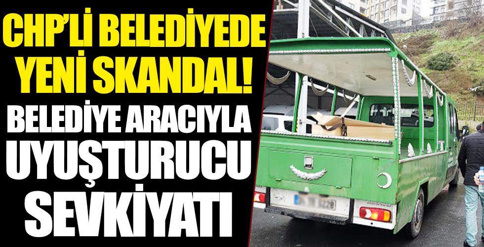 CHP'li belediyenin cenaze nakil aracıyla uyuşturucu sevkiyatı