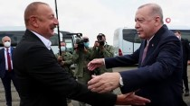 ALIYEV - Cumhurbaskani Erdogan, Azerbaycan Cumhurbaskani Aliyev Ile Fuzuli'de Bir Araya Geldi