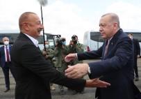 ALIYEV - Cumhurbaskani Erdogan, Fuzuli'de Aliyev Tarafindan Karsilandi