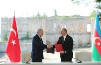 ALIYEV - Erdogan Ve Aliyev, Susa Beyannamesini Imzaladi