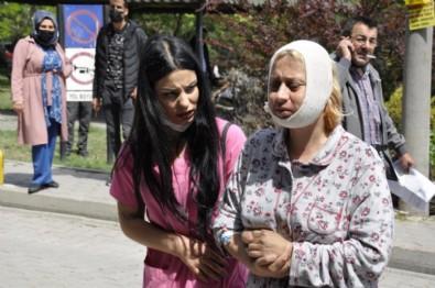 Eskişehir'de hayvanları beslerken darbedildi: Çenemde kırık var, platin takıldı