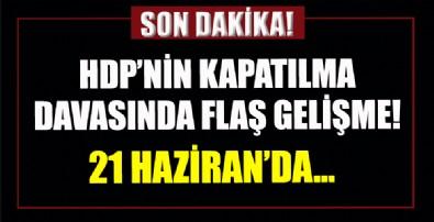 HDP'nin kapatılması istemiyle açılan davada ilk inceleme 21 Haziran'da