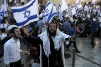 PLASTİK MERMİ - Israil'de Fanatik Yahudilerden Bayrak Yürüyüsü