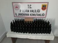 KAÇAK ALKOL - Kontrol Noktasinda Durdurulan Otomobilde Kaçak Alkol Ele Geçirildi