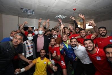 Sincan Belediyespor, Ankara D.S.I'yi 3-0 Maglup Etti.
