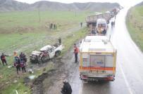 ÖLÜMLÜ - Sirnak'ta Trafik Kazalari Azaldi