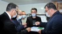 SELÇUK ÜNIVERSITESI - TÜBITAK Baskani Prof. Dr. Mandal, SÜ'de Yürütülen Asi Çalismalari Hakkinda Bilgi Aldi
